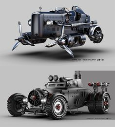 Pin By Darkok On Dieselpunk Cars Motorcycles Cars Custom Cars Diesel Punk, Ingenieur Humor, Automobile, Kart, Transporter, Futuristic Cars, Future Car, Automotive Design, Amazing Cars