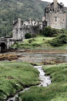 FUCKITANDMOVETOBRITAIN —  and-the-distance: The Eilean Donan Castle Ruin - Scotland