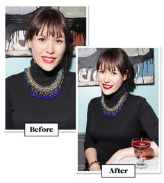 How To Take A Truly Amazing Picture--Wear A Blue-Red Lipstick — The right shade of lip color can make your teeth look whiter. Look for blue-red lipsticks, or dab on a sheer blue gloss over your regular color. Your smile will look instantly brighter. Magic!