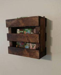 Pallet Projects, Woodworking Projects, Wood Magazine, Magazine Racks, Menu Holders, Wood Wine Racks, Wood Pallets, Pallet Wood