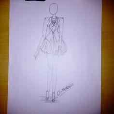 GHonorio Fashion: Croqui desenho,moda