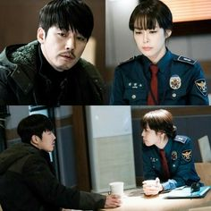 Voice 보이스  ...really good drama Lee ha na & jang hyuk