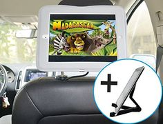 iPad Air Car Headrest Mount Including a Universal Portable Folding Tablet Holder * Check out the image by visiting the link.