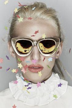 Fashion's Favorite Cult Sunglasses Line Got Even Cooler #refinery29  http://www.refinery29.com/2014/10/75915/karen-walker-celebrate-anniversary-collection#slide10