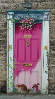 Kimseler görmedi Ömür hanım, bu dünyadan ben geçtim... İçimde umudun kırk kilitli sandıkları, elimde bir avuç düş ölüsü yüreğim -içinde senin  ve benim ağırlığım- benim olmayan bir garip  gülümsemeyle yüzümde, incelik adına, ben geçtim...+ Front Door Entrance, Grand Entrance, House Front Door, Doorway, The Doors, Cool Doors, Windows And Doors, England Uk, Yorkshire England