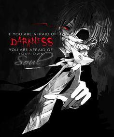 إذا كنت تخاف من الظلام فأنت تخاف من روحك
