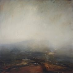 Mark Johnston - 'Rise' Oil on Canvas 65 x 65 cm. Abstract Landscape, Landscape Paintings, Abstract Art, Oil Paintings, Collages, Ocean Scenes, Beautiful Paintings, Contemporary Paintings, Painting Inspiration