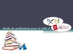 Outils de publication pour le CMS d'esidoc Aca. Orléans-Tours