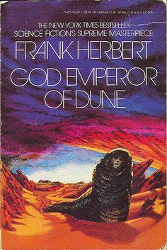 God Emperor of Dune Dune Berkley Books, 1982 358 pages 3000 views 4000 views Sci Fi Novels, Sci Fi Books, Sci Fi Fantasy, Fantasy Books, Dune Book, Dune Frank Herbert, Dune Art, Harlan Ellison, Orson Scott Card
