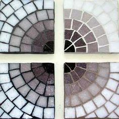 Sonia King, Mosaic Artist - Sonia's Book --> Technical Info --> Grout Study