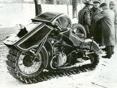 La BMW Schneekrad (1936).