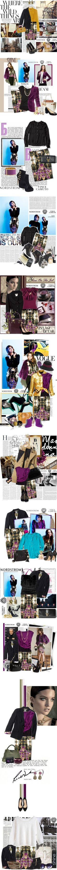 """""""12 Ways to Style Fall's Most Fashionable Workwear"""" by nordstrom ❤ liked on Polyvore"""