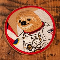 The astrosloth has long been an American and world hero and has inspired kids and adults alike to reach for the stars. $5