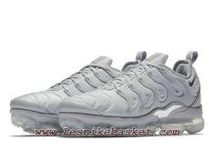 low priced 7546c bbbfb Nike Air VaporMax Plus Triple Grey 924453005 chaussures nike pas cher pour  homme Grey Mon Cheri