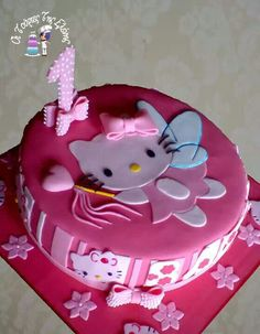 Hello Kitty fairy cake.