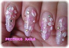 エアーブラシ桜×3D桜