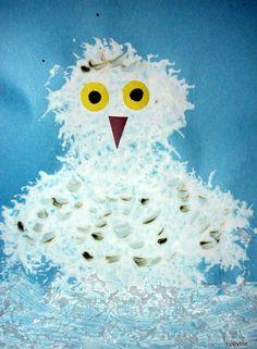Snowy Owl Craft | Tippytoe Crafts