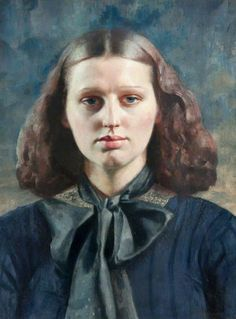 Dorette ~ Gerald Leslie Brockhurst, 1933... The painting is ...