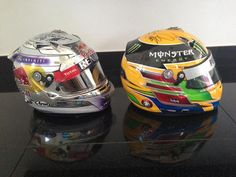f1 Sebastian Vettel and Lewis Hamilton have given Fernando Alonso their helmets for his collection.