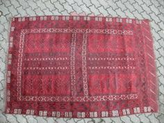 Hatschlu Afghanistan Teppich