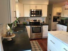White Kitchen Island, Home Decor, Decoration Home, Room Decor, Home Interior Design, Home Decoration, Interior Design