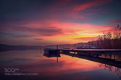 calm - Pinned by Mak Khalaf Nature beautifulcalmcloudslakelightreflectionskywater by fotissima