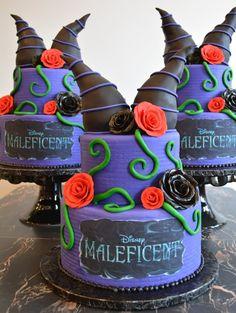 Maleficent Cake. www.thailandlifestyleproperties.com www.rayongthailandproperties.com.au