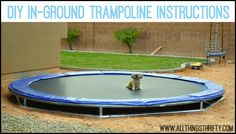 DIY In-ground Trampoline Instructions FAQs