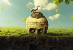 Create a Funny Surreal Underground Scene With Adobe Photoshop