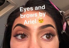 Kylie Jenner eyebrows Snap chat