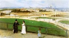 View on Paris Sun - Berthe Morisot