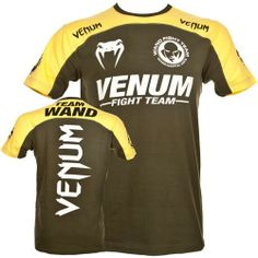 Buy your Venum Team Wand T shirt Green     Venum, the MMA world leader brazilian brand, highest gear, fight shorts and t-shirt quality