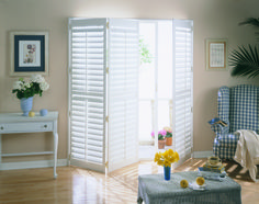 Plantation shutters can add a subtle elegance to any room in your home. They are available in faux wood, or real wood made from the highest grade hardwoods from certified forests. These gorgeous shutters can be customized to fit your style, with a variety of blade sizes that rotate open or closed to control natural light, visibility, and airflow. Call Budget Blinds of The Hamptons  to meet with our expert designers and owners, Keith, Anita, and Sal today!