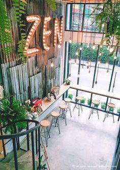 Home Decoration Accessories Key 8178260123 is part of Coffee shop design - Coffee Shop Design, Cafe Design, Bar Vintage, Zen Bedroom Decor, Bedroom Rustic, Decor Room, Deco Cafe, Mein Café, Zen Interiors
