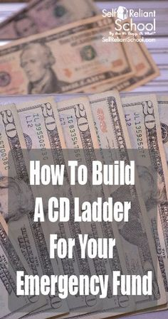 How to build a CD ladder with your emergency fund to give you both interest income and keep your cash available.