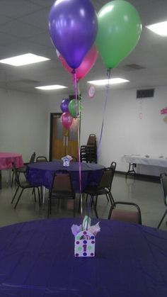 1st birthday centerpieces