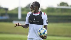 Trending photos Joash Onyango, 27 year old Kenyan footballer, training with the National team ahead of 2019 AFCON - Breaking News Trending Photos, Trending Topics, 27 Years Old, Year Old, Germany Photography, Egypt Travel, Berlin Wall, New Tricks, Beard Styles