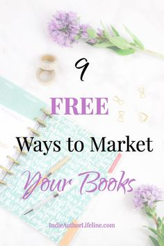 Marketing your books doesn't have to be expensive. Here are 9 Free (or low cost) ways that I've used to market my bestselling books! Editing Writing, Fiction Writing, Writing A Book, Writing Tips, Creative Writing, Writing Strategies, Writing Resources, Writing Help, Book Publishing Companies