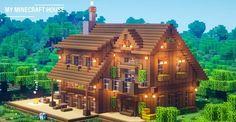Minecraft House Plans, Minecraft Farm, Minecraft Mansion, Minecraft Cottage, Minecraft Houses Survival, Easy Minecraft Houses, Minecraft House Tutorials, Minecraft Houses Blueprints, Minecraft House Designs