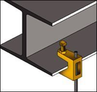 CADDY Electrical Fixings, Fasteners and Supports - CADDY Lay In And Troffer Light Fixture Support Clips Manufacturer from Noida
