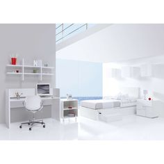 1000 images about white children 39 s rooms on pinterest for Habitaciones blancas