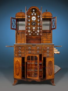 This dental cabinet is the finest specimen of its kind we have ever encountered ~ M.S. Rau Antiques