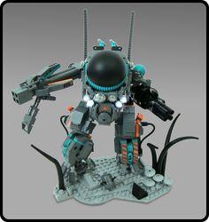 Lego mech moc Alien Hard suit