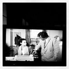"@rogerluzern's photo: ""Columbo entdeckt die FAX-Maschine (Mord nach Termin )"""