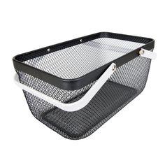 Black Large Handy Storage Basket – Little Label Co