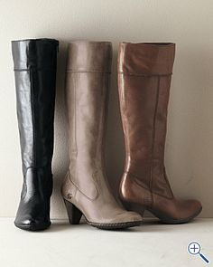 Beautiful boots for fall.