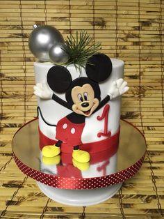 New Year's Mickey Mouse by Oksana Kliuiko