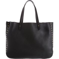 Barneys New York Studded Tote ($590) found on Polyvore
