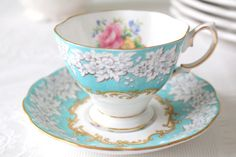 Vintage English Bone China Royal Albert Teacup by MariasFarmhouse