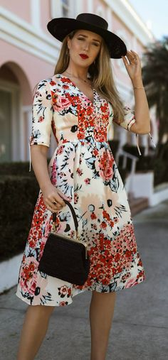 fashion trends floral dresses 2019,womens hot pink silk